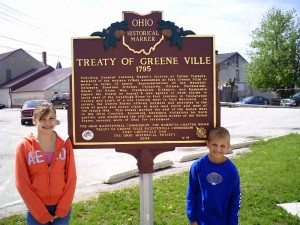 Treaty of Greenville Marker