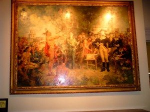 """The Signing of The Treaty of Greene Ville"" by Howard Chandler Christy"