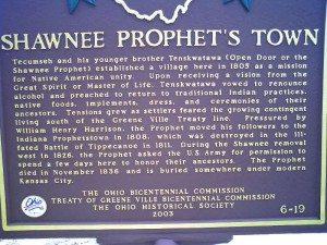 Shawnee Prophet's Town