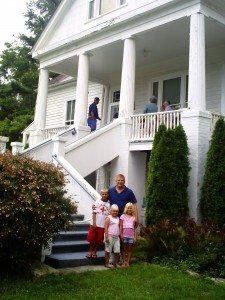 Sandburg home